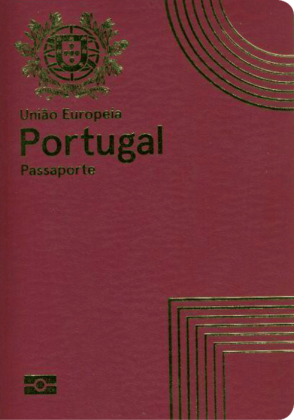 The image of the passport of Portugal